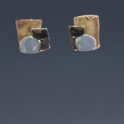 Porcelain Post Earrings