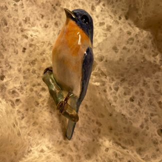 Ceramic Bird, Blue Bird