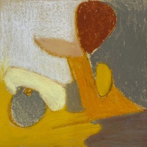 Sholeh Regna, Oil Pastel #14