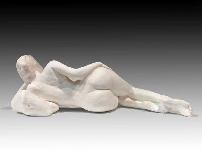 Reclining Woman, Plaster Sculpture
