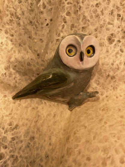 Saw Whet Owl, Ceramic